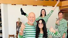 Bruce Willis e Demi Moore passam a quarentena juntos mesmo divorciados há 20 anos