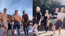 Celebrities form quarantine crews amid coronavirus outbreak: Who is hunkering down together?