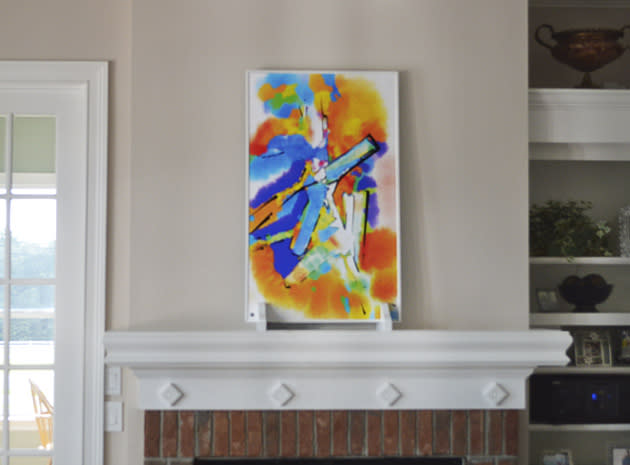 Hot Art is a space heater disguised as a painting (a very expensive painting)