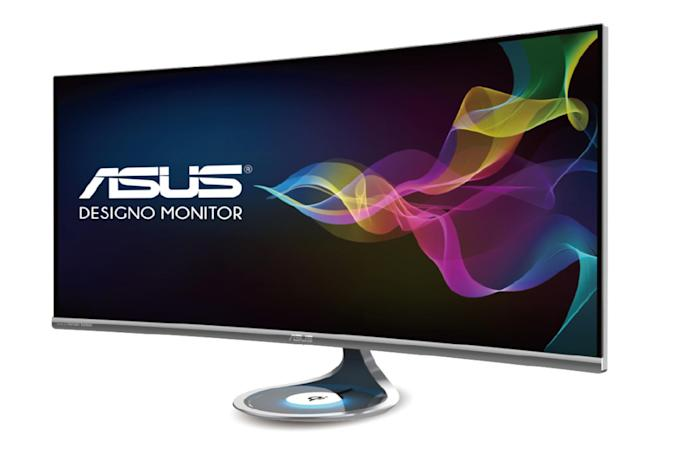 ASUS' new displays include one with a wireless charging pad