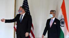 Pompeo warns of China risks ahead of US-India talks