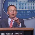 White House's Mulvaney did not mull quitting over 'quid pro quo' flap