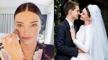 化出女神的仙氣妝容:準新娘必看! Miranda Kerr 親自拍片示範婚禮上的玫瑰色妝容!