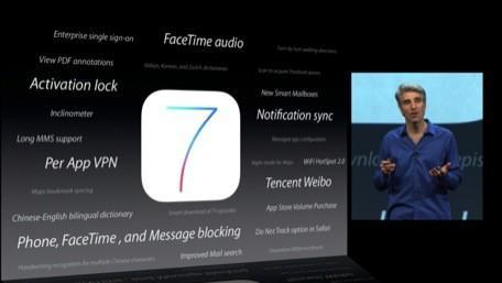 iOS 7 phases out the iPhone 3GS and the original iPad; some features will be iPhone 5 only