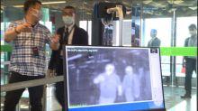 機場攔截有症狀入境者 等採檢出爐才能返家