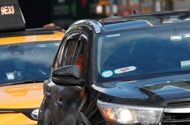 Lyft sues NYC over limits on driver 'cruising'
