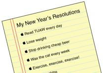 Keep your New Year's resolutions: a Holiday Gift Guide