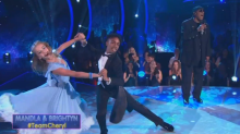 Stevie Wonder sings 'Isn't She Lovely' while his son dances a lovely foxtrot