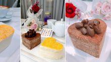 是只有台灣才有嗎?Lady M情人節心形千層蛋糕太可愛了!