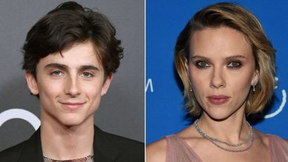 Timothée Chalamet Pokes Fun at Scarlett Johansson's Claim She Should Be 'Allowed' to Play a Tree