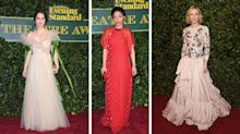 Cate Blanchett and Keira Knightley stun in ethereal gowns at Evening Standard Theatre Awards