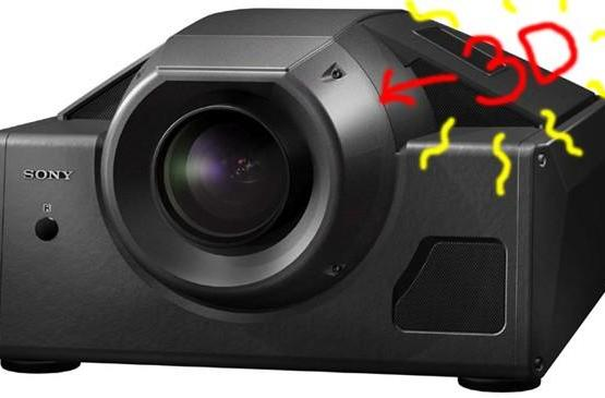 "Sony brings out its very own ""single-projector 3D adapter"""