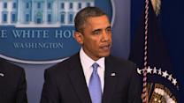"Obama on ""fiscal cliff"" deal: good first step"