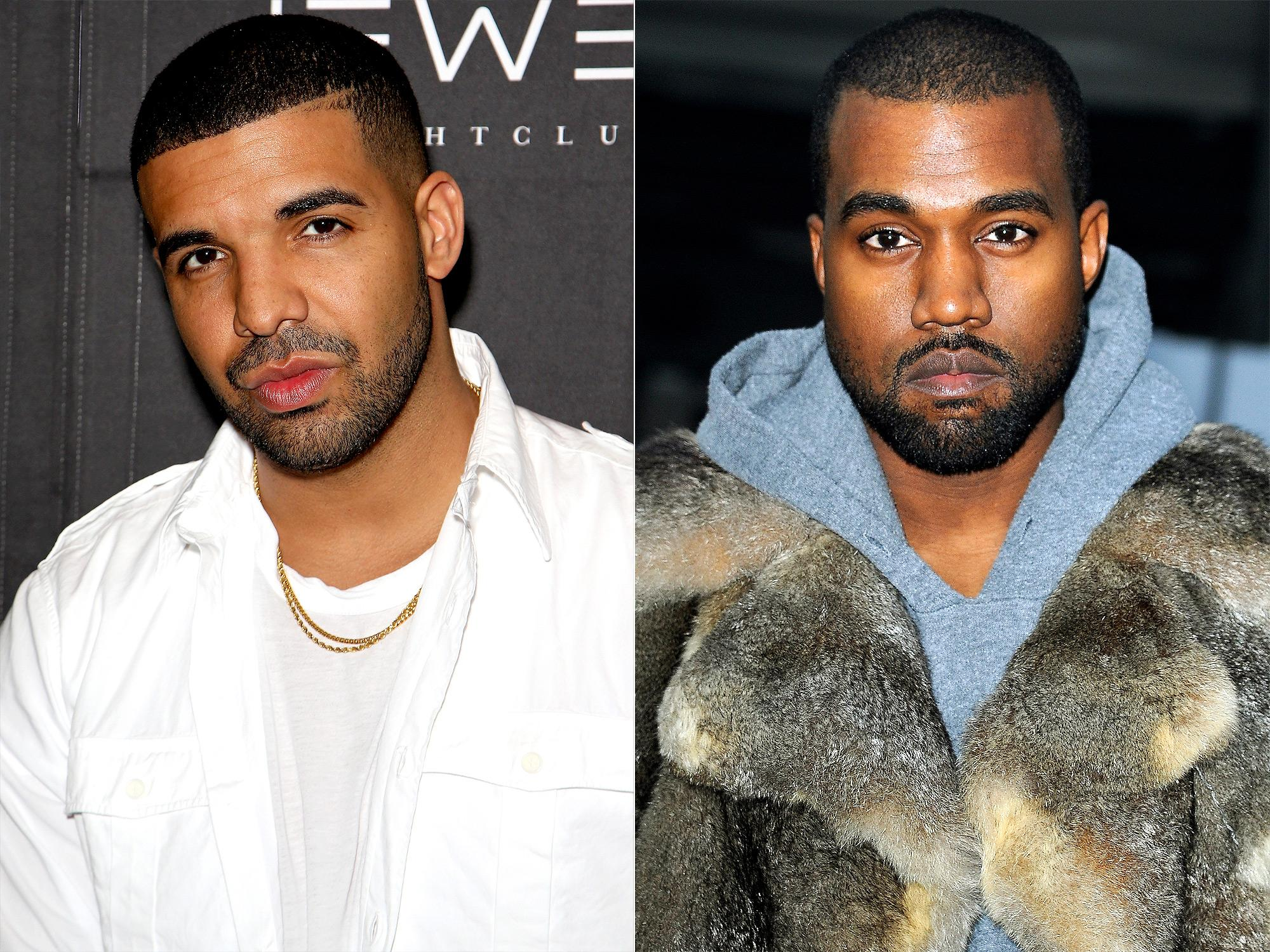 4b7e1e330107 Kanye West Says Drake Is Threatening Him and His Family in Explosive  Twitter Rant: 'Leave Me Alone'