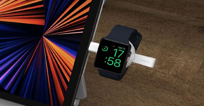 The OMNIA A1 Apple Watch charger.