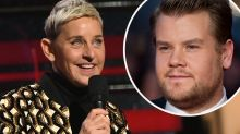 Ellen DeGeneres set to be replaced by James Corden