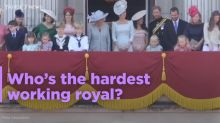 Who are the hardest-working royals?