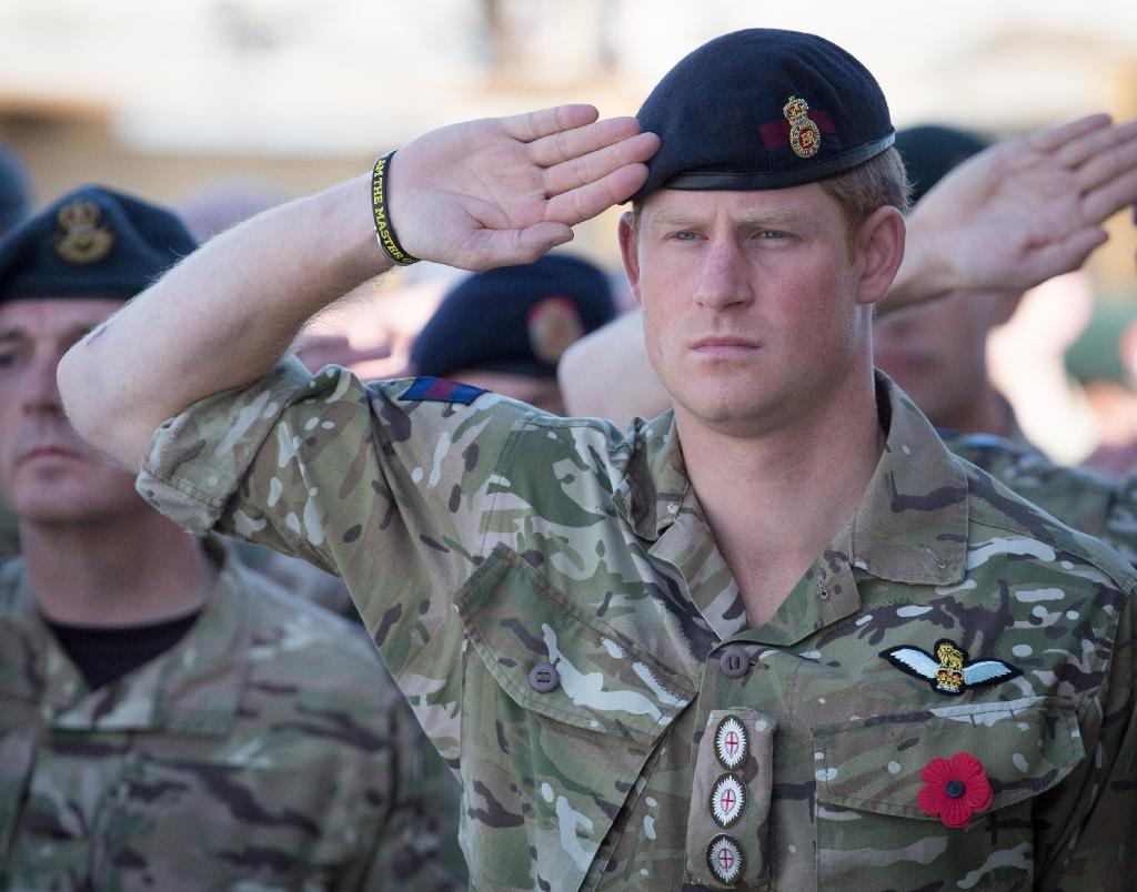 Prince Harry served two tours of duty in Afghanistan (AFP Photo/MATT CARDY)
