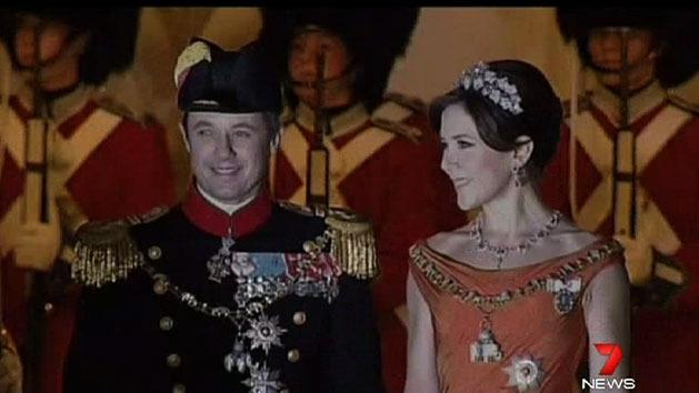 Princess Mary attends New Year's event