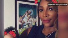 Serena Williams' husband highlights paternity leave