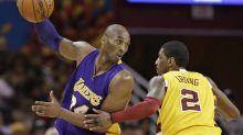 Kyrie Irving wants NBA to honor Kobe Bryant with new logo and Vanessa Bryant is on board