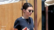 Kendall Jenner Gives Mom Jeans the Cool Cut-Off Treatment