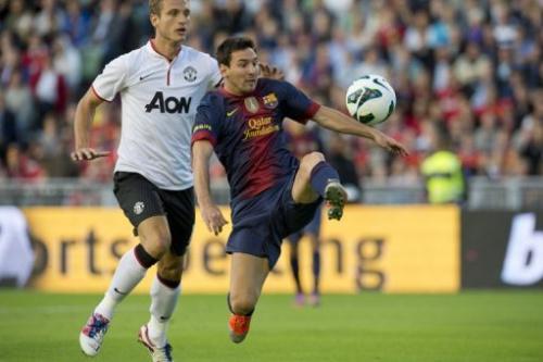 Barcelona le gana amistoso al Machester United