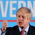 'Humbled' Boris Johnson vows to get Brexit done in rousing victory speech