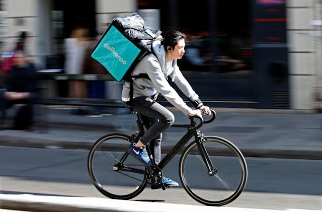 UK watchdog 'provisionally' clears Amazon investment in Deliveroo