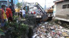 Cebu City collects trash from waterways, coast