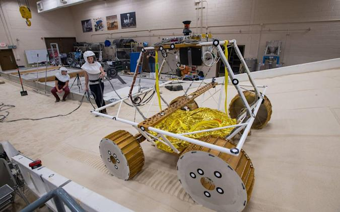 NASA / Bridget Caswell, Alcyon Technical Services