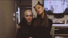 Ariana Grande 'gives Pete Davidson back her engagement ring - but is keeping Piggy Smallz'
