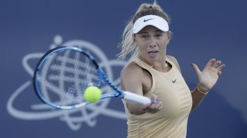 Anisimova out of US Open after father's death
