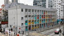 Some of Hong Kong's poor finally feel at home in 290 sq ft modules