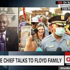 George Floyd's family asked the Minneapolis police chief on live TV about securing justice for his death
