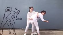Hintern versohlt: Diese Mädels wagen den Tier-GIF-Tanz