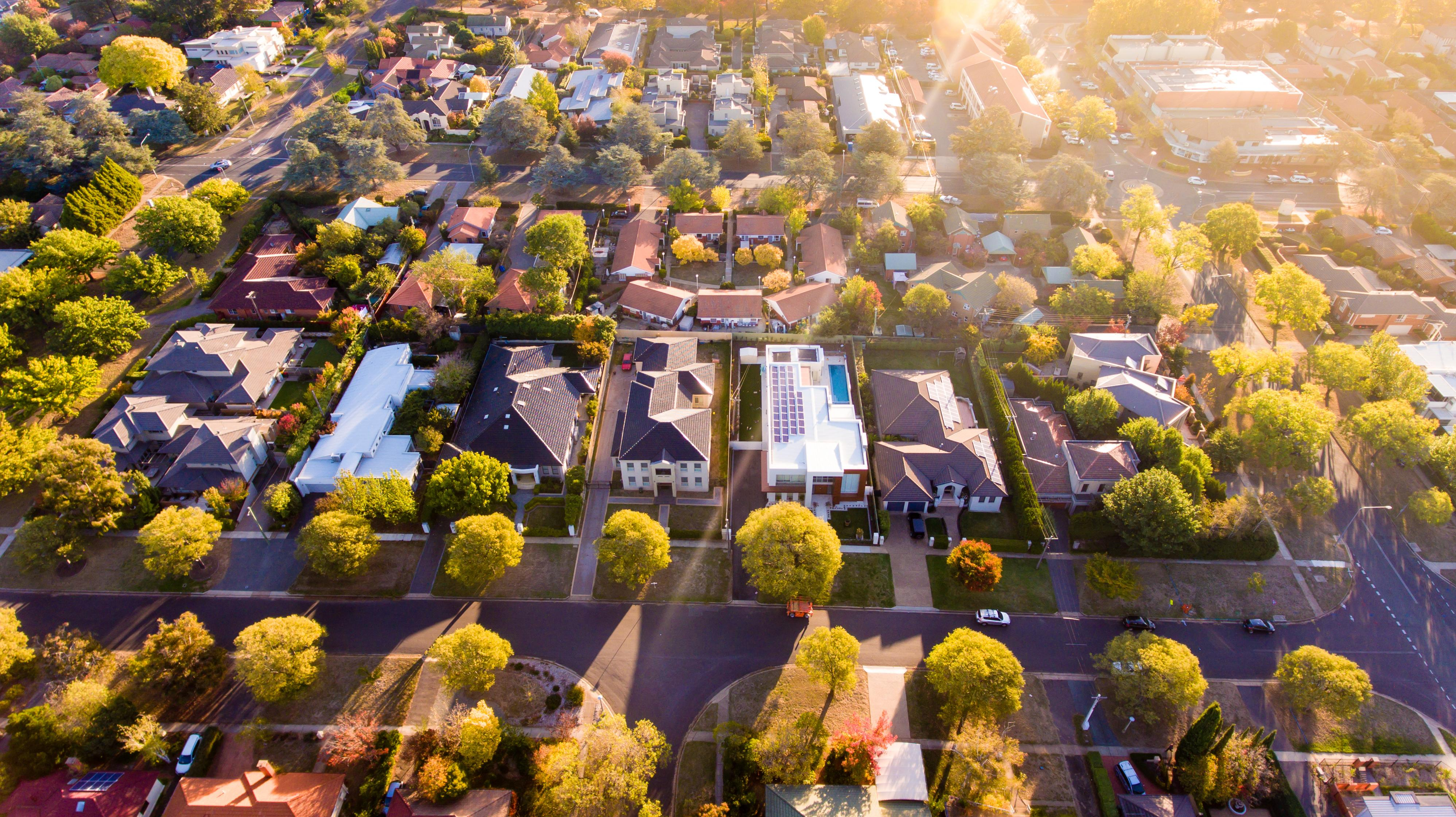 The suburbs where the most houses are selling