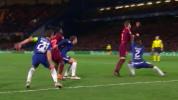 Piqué reclamó penalti de Rudiger en el Chelsea - Barcelona