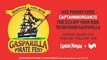 Captain Morgan Comes Through For Its Crew With Free Tickets To Gasparilla For Fellow 'Morgans'