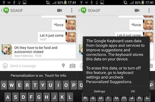 Google Keyboard's autocorrect gets better if you let it mine your data