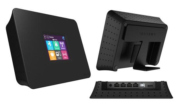 Almond+ WiFi router coming to Kickstarter: touchscreen, 802.11ac, home automation