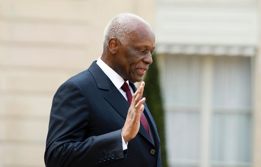 Angola's ex-president Jose Eduardo Dos Santos ruled for 38 years (AFP Photo/ALAIN JOCARD)