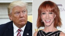 Kathy Griffin Gets Backlash for Tweet About Giving Trump Syringe Filled With Air