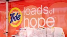 Procter & Gamble Brings Relief to Residents Affected by Northern California Wildfires with P&G Product Kits and Tide Loads of Hope Laundry Services