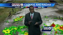 Rain to move out for nice, mild Tuesday