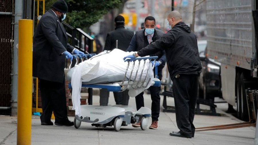 FEMA requests 100,000 body bags for virus deaths