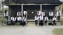 The Inspirational Story Behind Black Medical Students' Photo On Former Slave Plantation