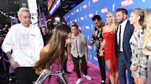 Ariana Grande And Pete Davidson Joyfully Piss Off Paparazzi On VMA Red Carpet