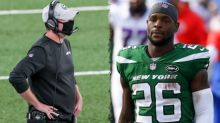 Jets' Adam Gase hates the route Le'Veon Bell took liking tweets: 'Seems to be the way guys want to do it nowadays'