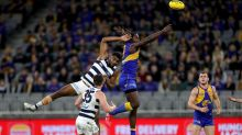 Geelong coach mesmerised by Eagle Nic Nat